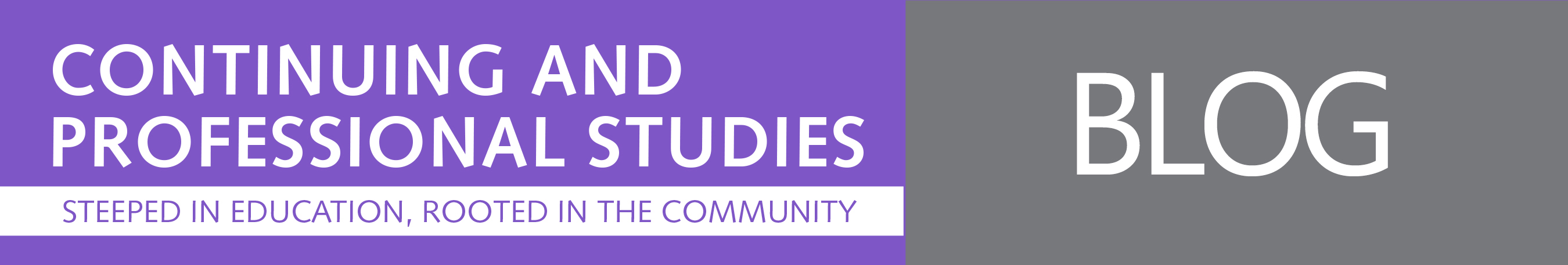 Continuing And Professional Studies Blog