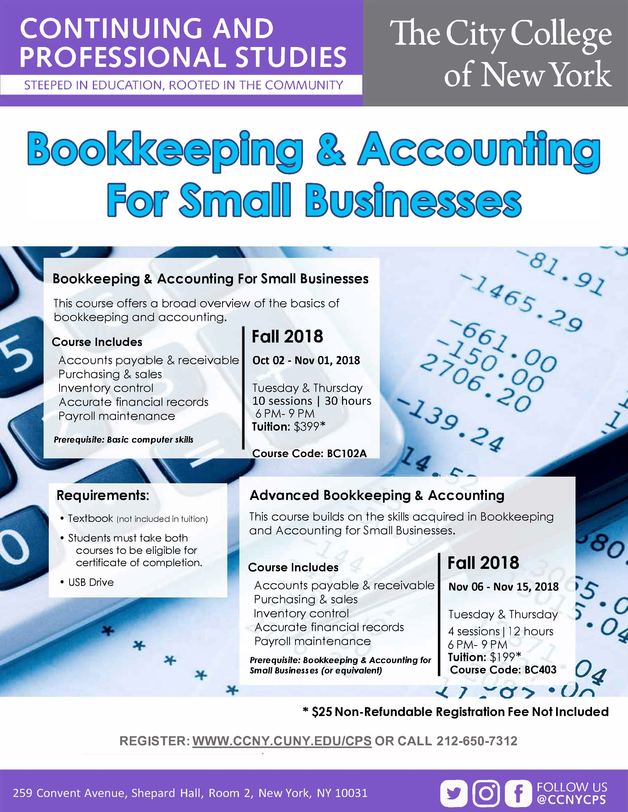Bookkeeping & Accounting For Small Business