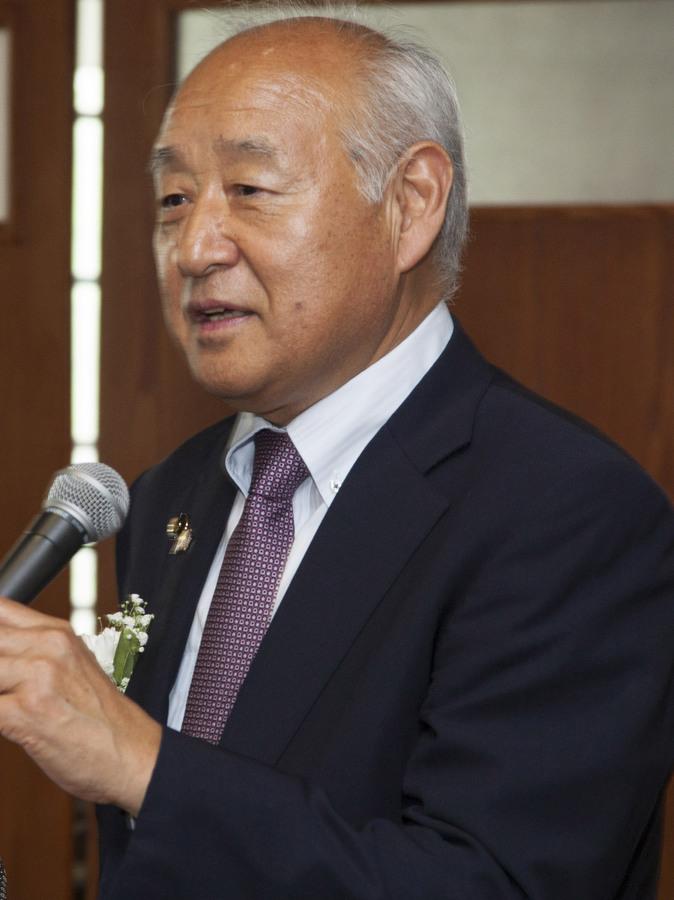 Shimoda Mayor Yusuke Fukui