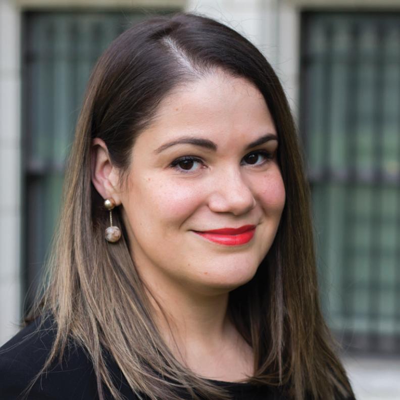 Marlene Camacho Rivera, a Herbert W. Nickens Faculty Fellowship recipient