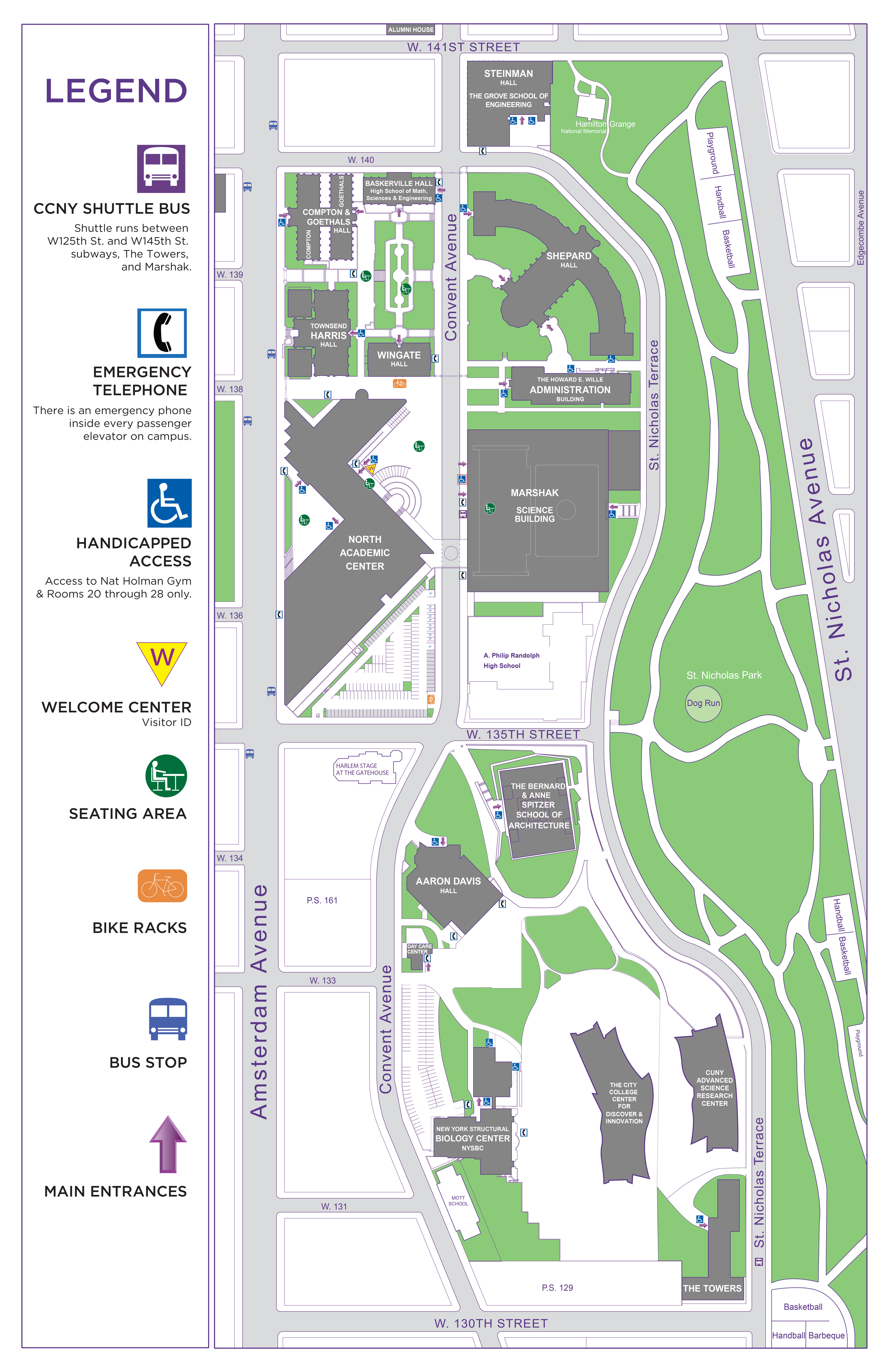 CCNY Campus Map | The City College of New York