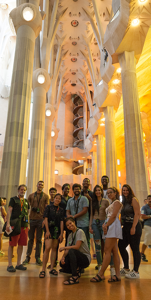 Castagna Scholarship Study Abroad in Barcelona 2017