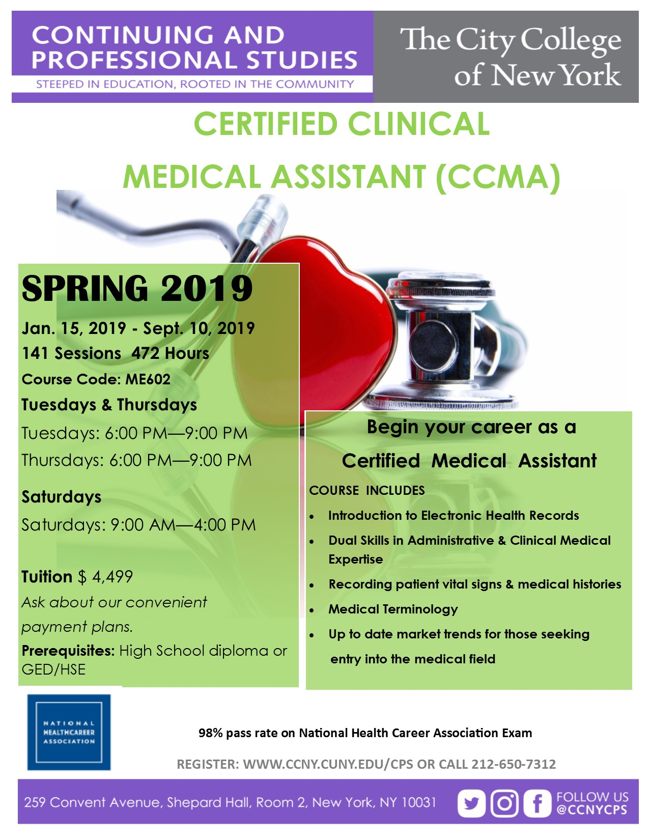 Certified Clinical Medical Assistant