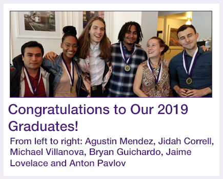 CCNY Fellowship Graduates 2019