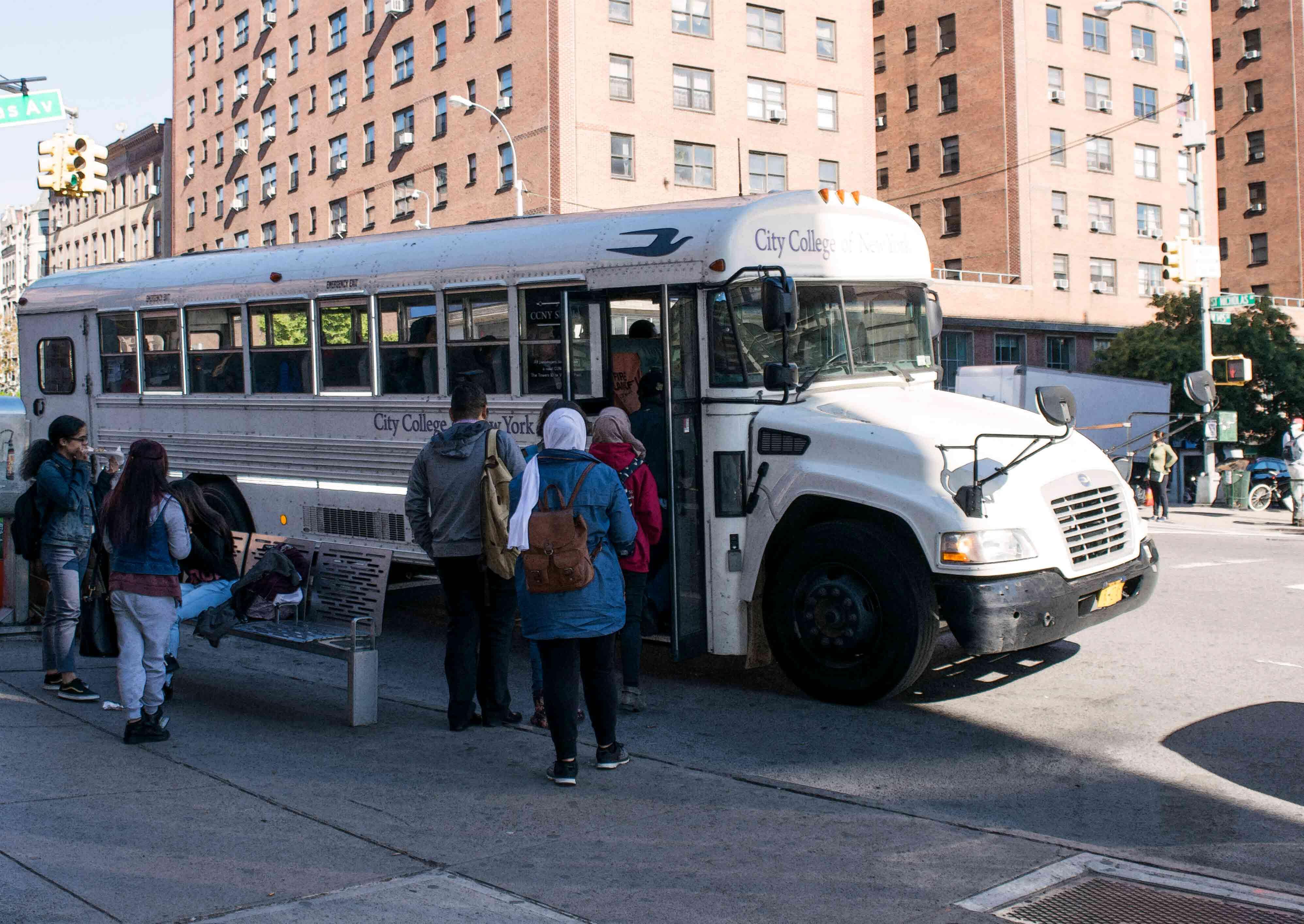 CCNY Shuttle Bus