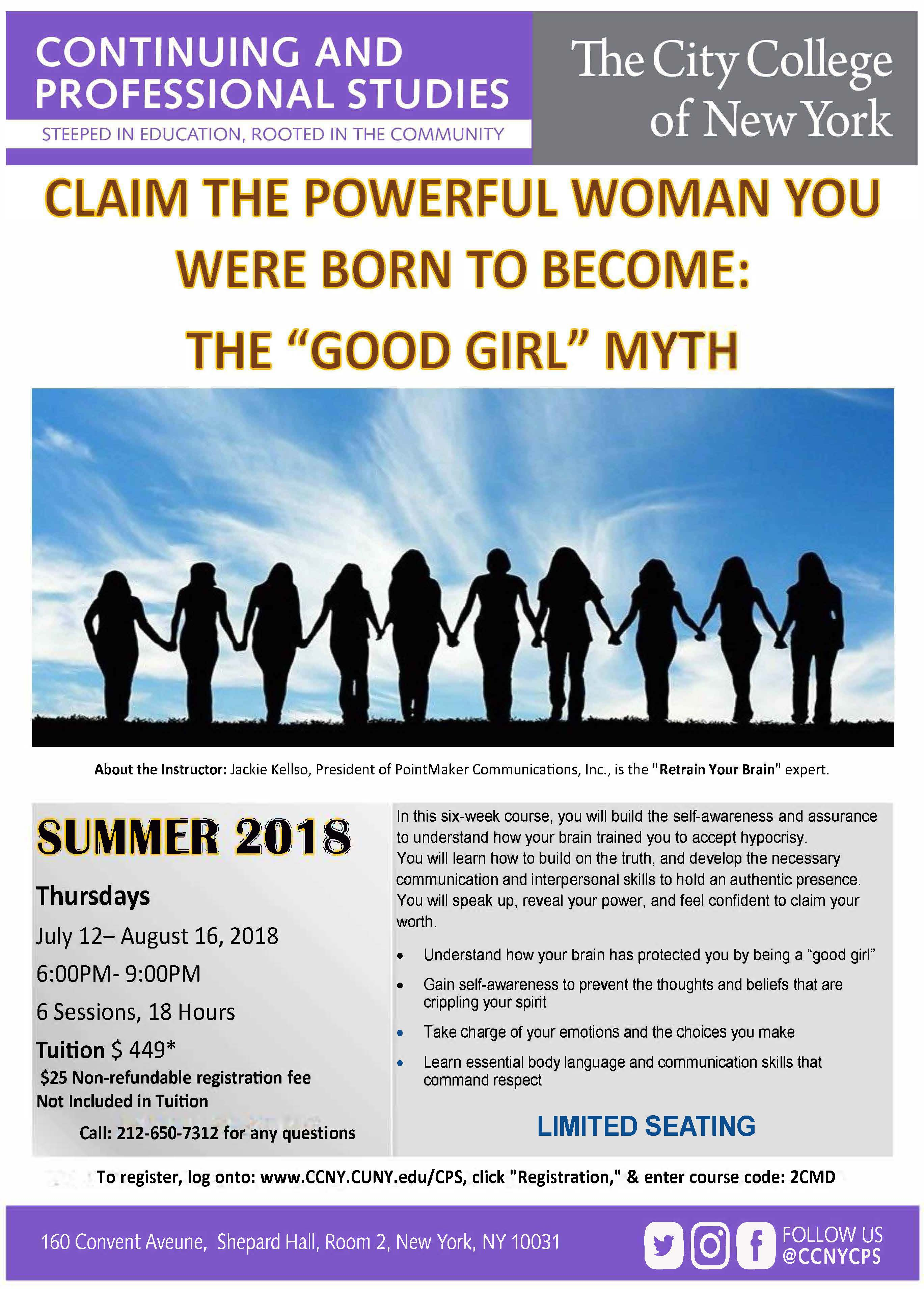 """Claim The Powerful Woman You Were Born to Become: The """"Good Girl"""" Myth"""