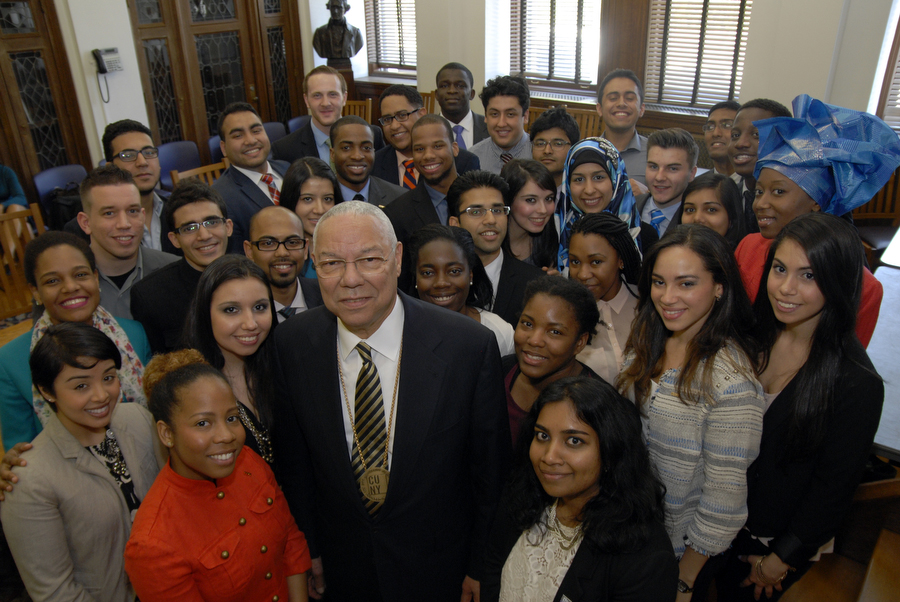Gen. Colin L. Powell and Fellows