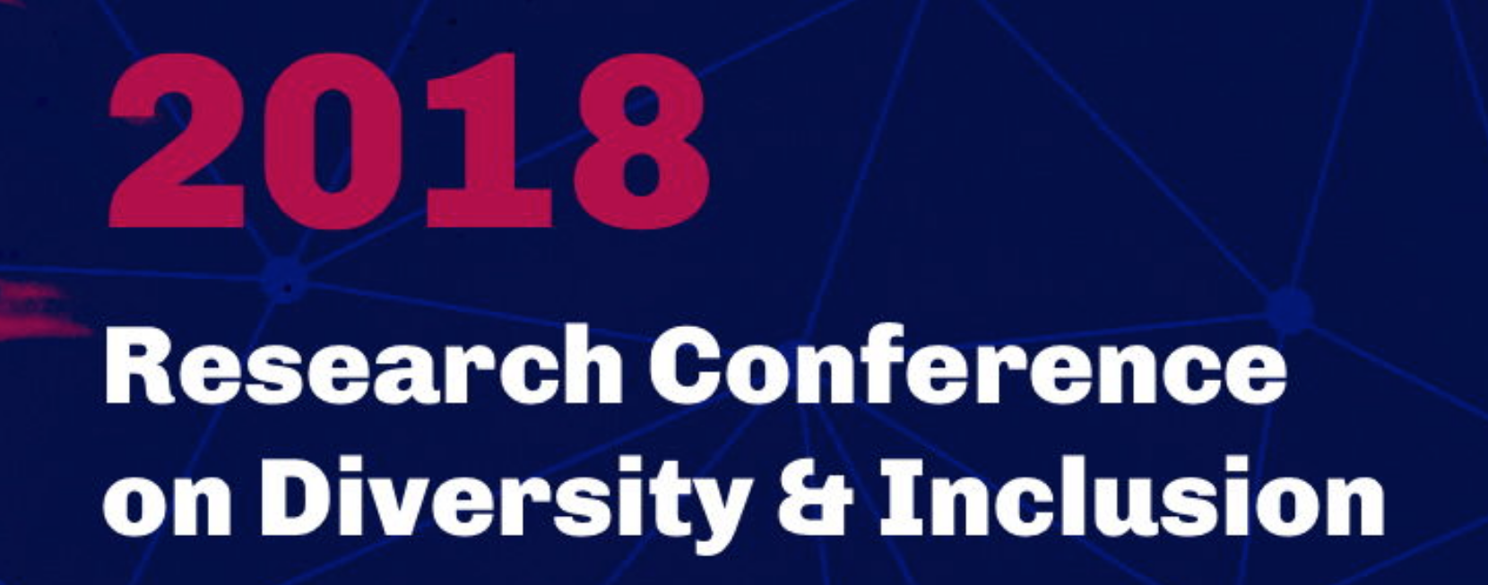 2018 Research Conference on Diversity & Inclusion logo