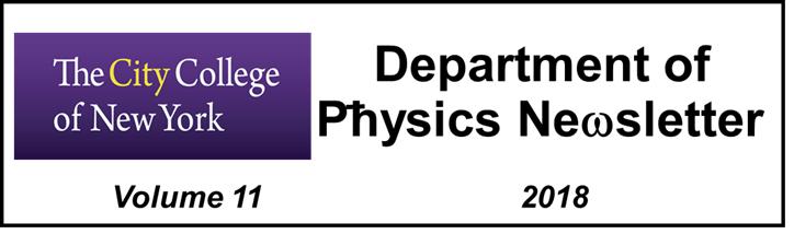 Physics Department Newsletter