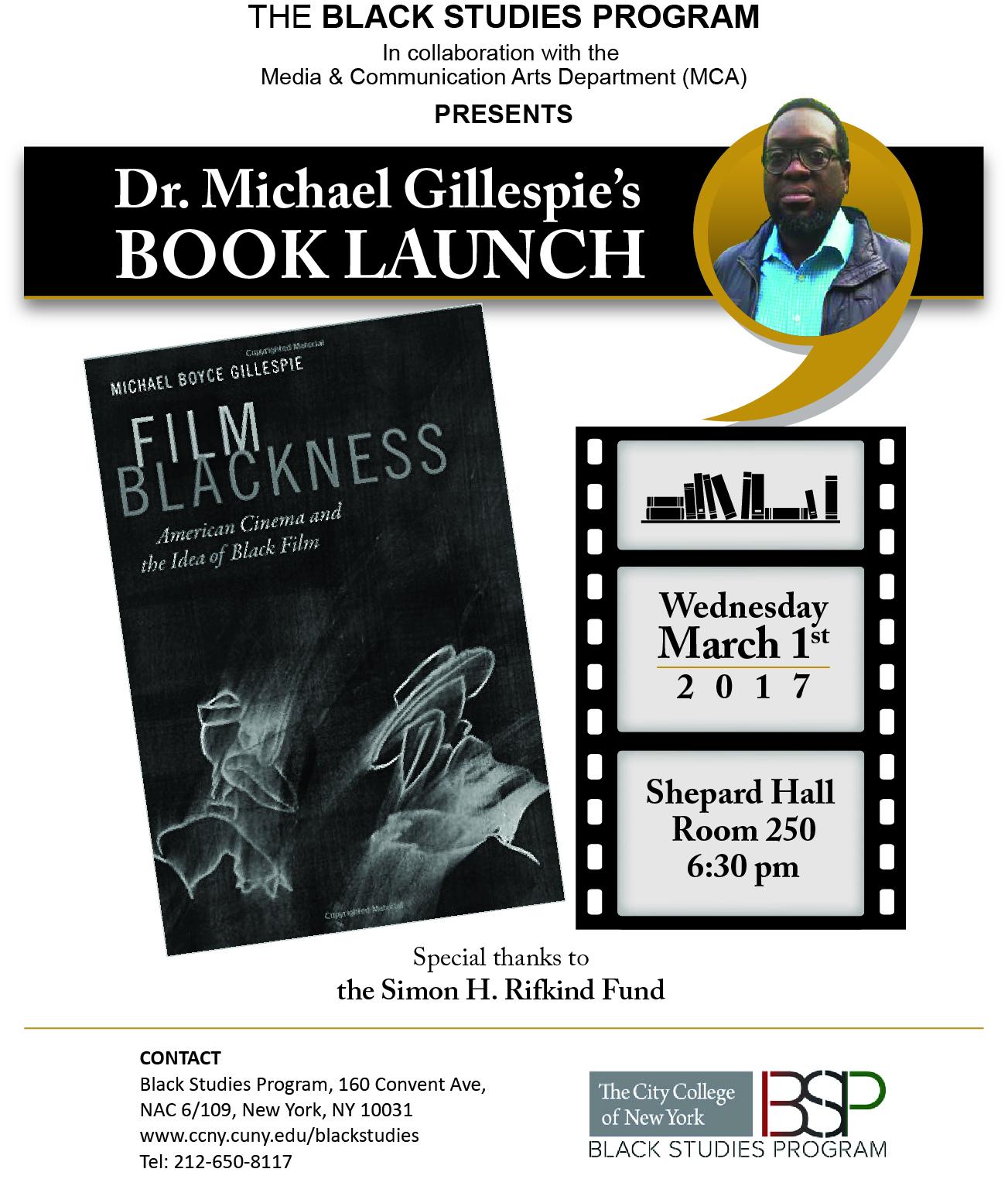 Gillespie - Film Blackness