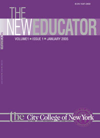 The New Educator journal cover