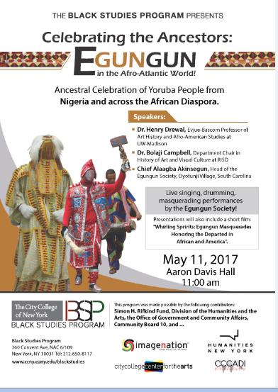Egungun Event Poster