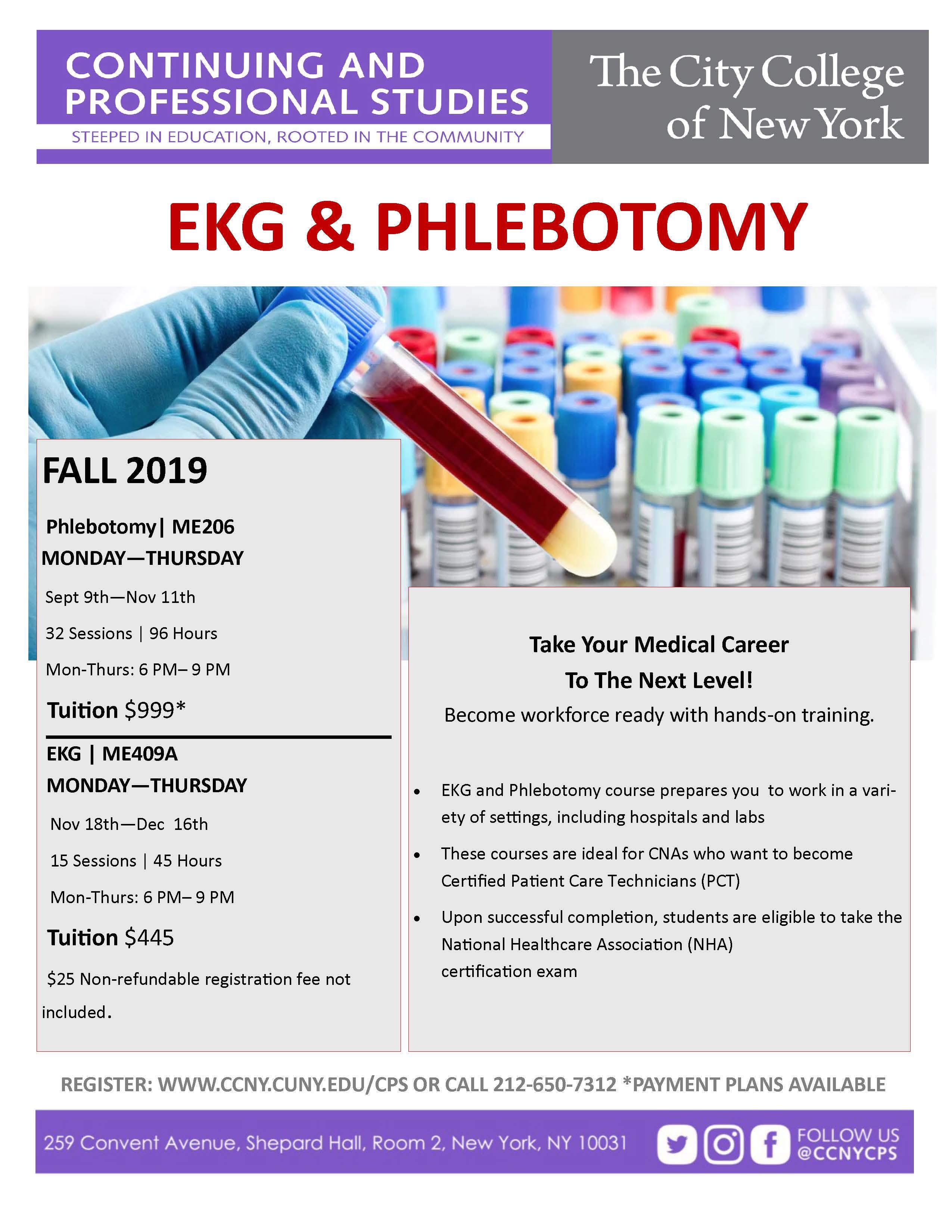 EKG & Phlebotomy