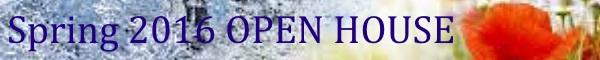 Spring 2016 Open House