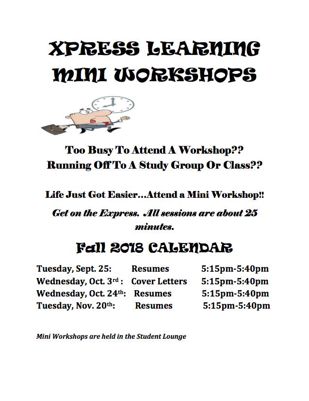 Express Mini Workshops