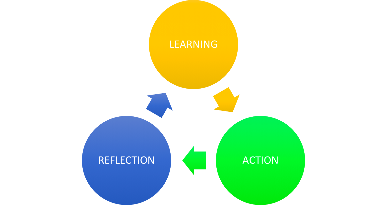 Learning Action Reflection Cycle