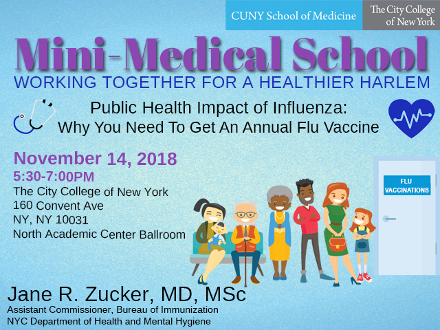 Mini-Medical School to discuss flu prevention