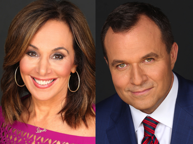 News Anchors Rosanna Scotto and Greg Kelly of Fox 5