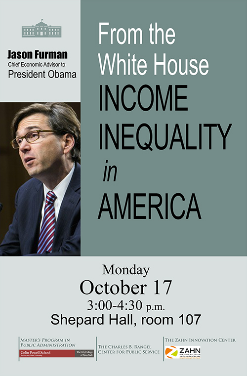 Jason Furman Chief Economic Advisor to President Obama