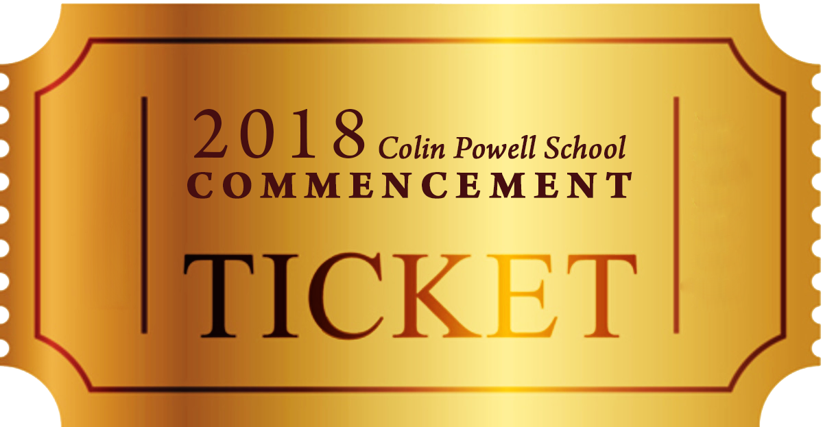 COMMENCEMENT TICKET