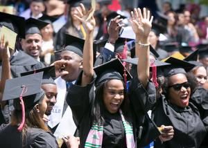 Colin Powell School graduates at CCNY