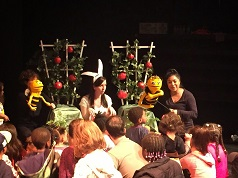 Puppet show at Harlem Children's Theatre Festival