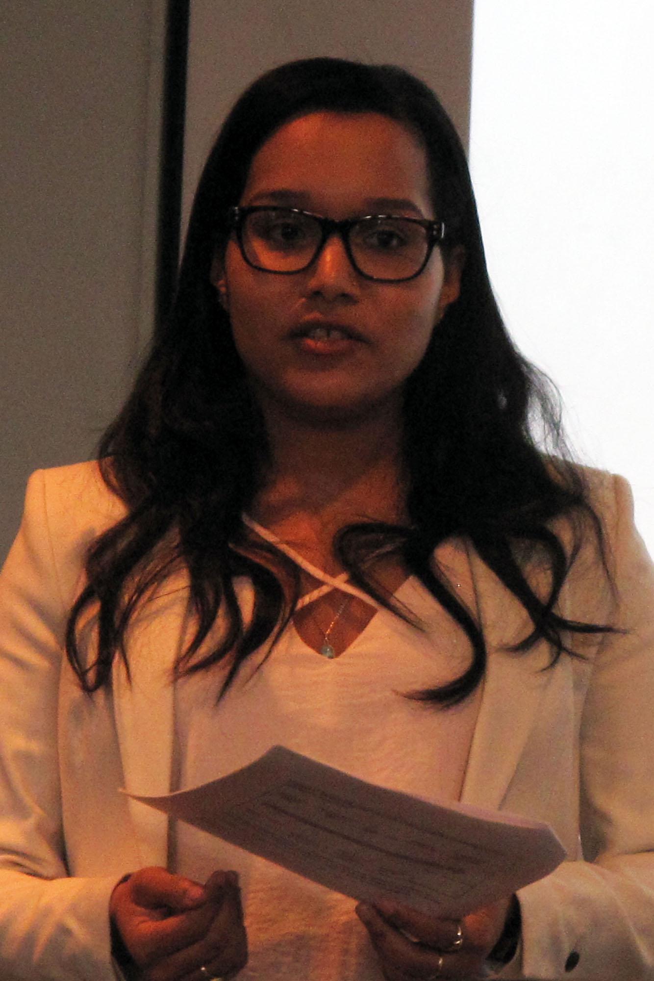 MPA graduate Ellen Ulerio