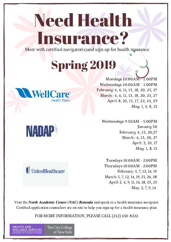 Health Insurance Spring 2019