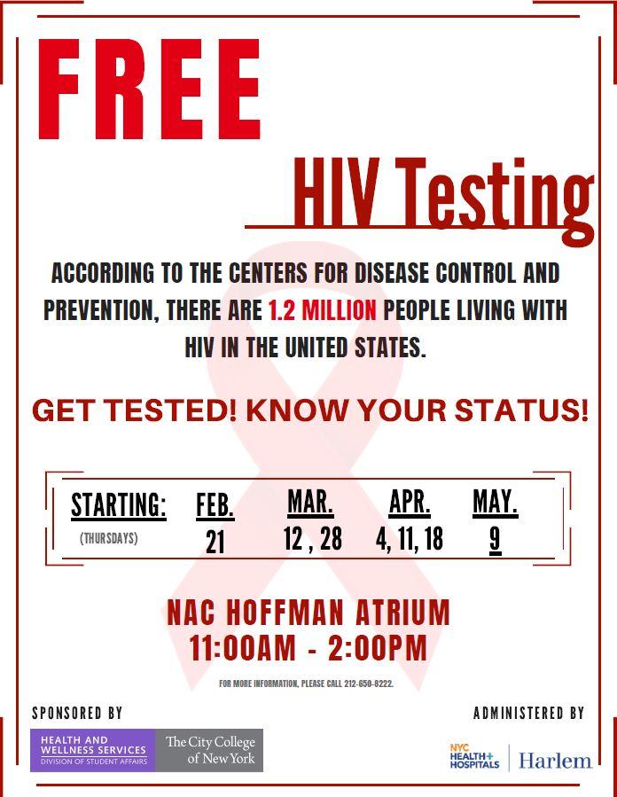 HIV Testing Spring 2019