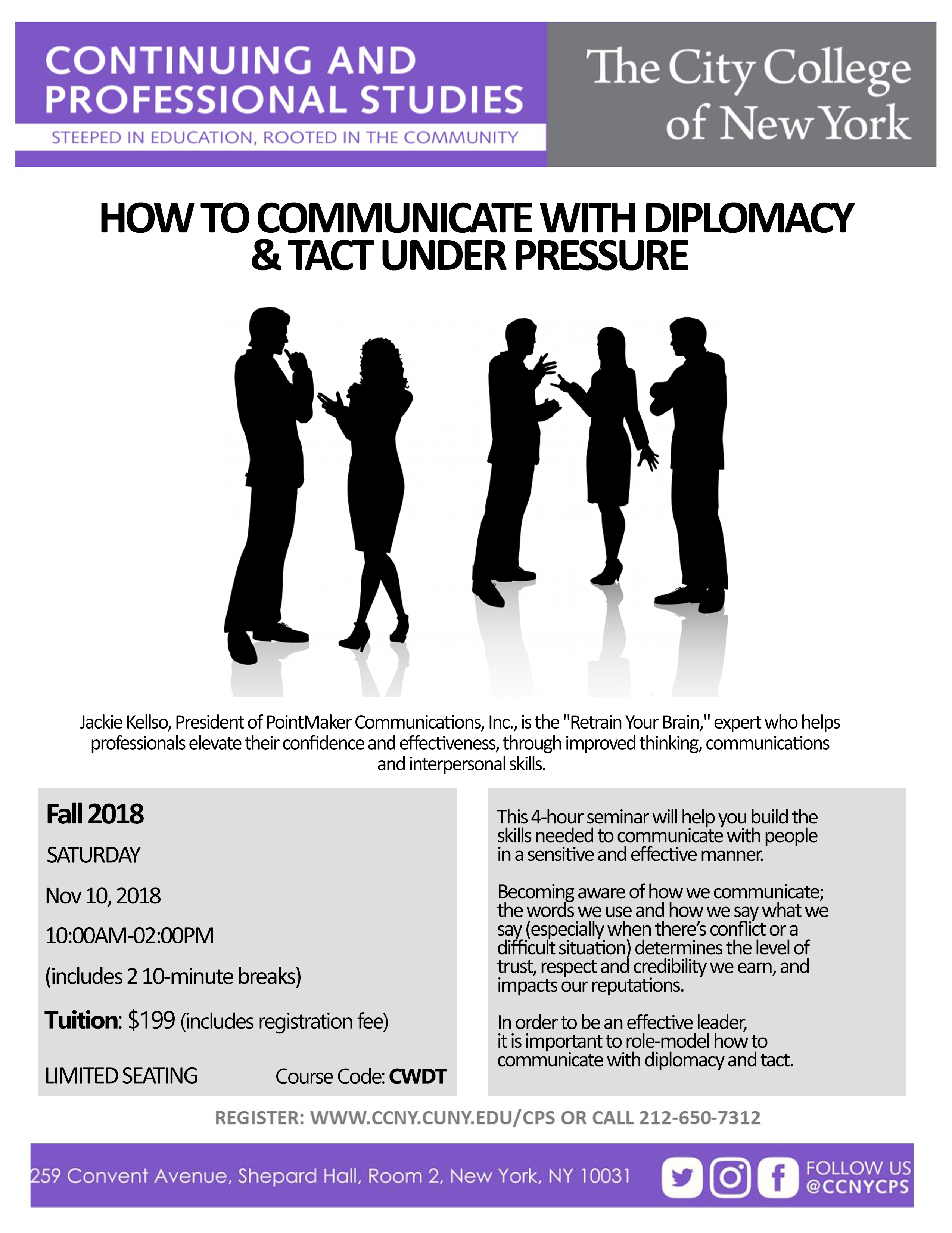 How To Communicate with Diplomacy and Tact Under Pressure