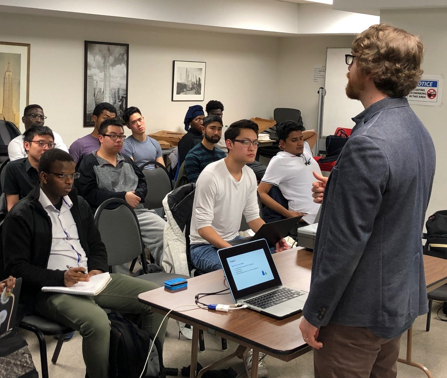 Google mines CCNY talent in search of best and brightest