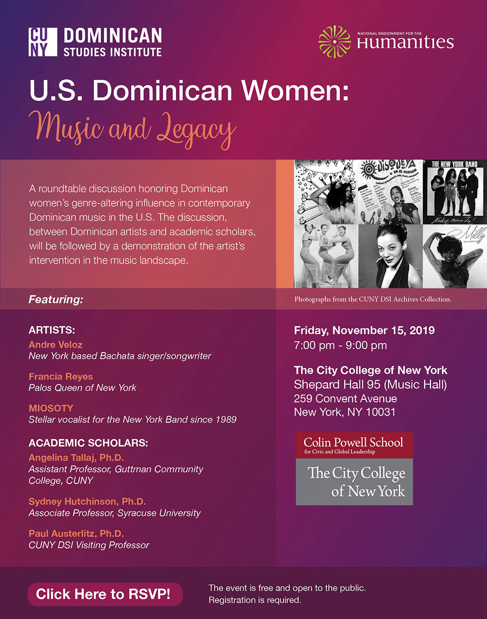 CUNY DSI U.S. Dominican Women: Music and Legacy
