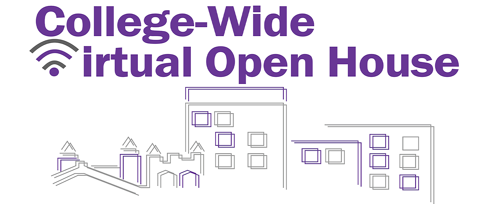 2020 College-Wide Virtual Open House Banner Image