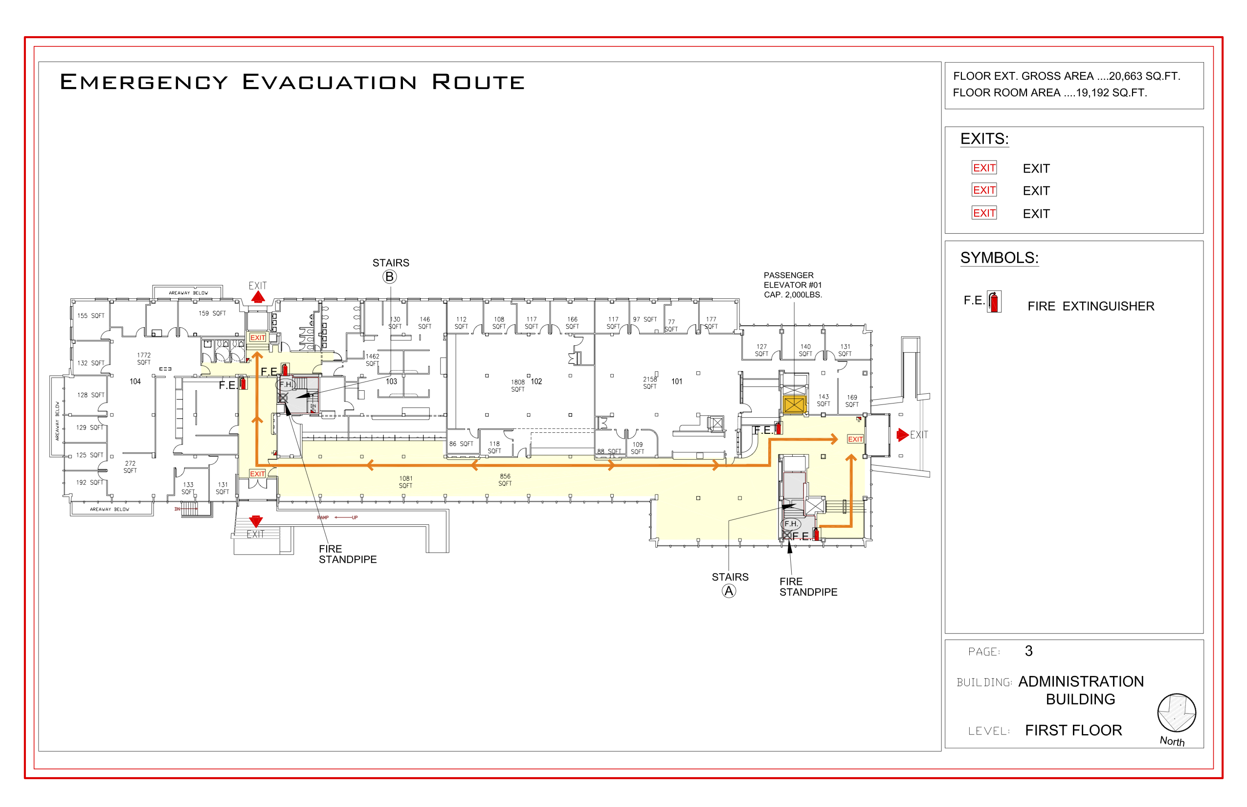 Administration - Evacuation Plan 2