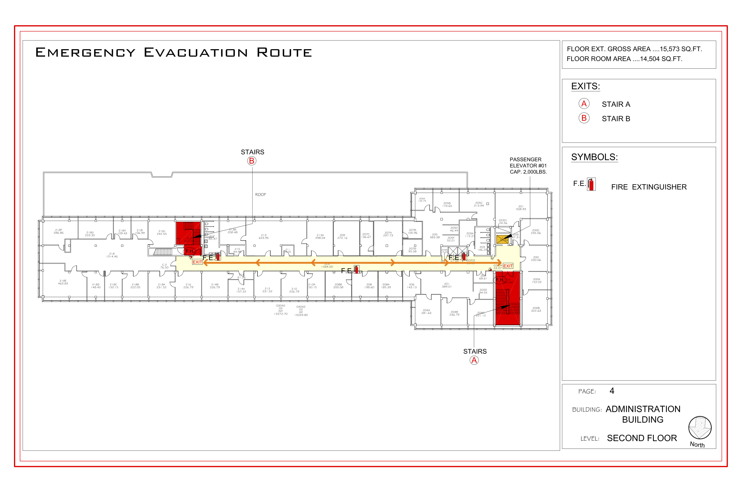 Administration - Evacuation Plan 3