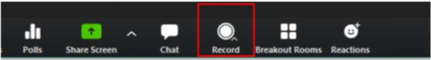 Record on this Computer or Record to the Cloud
