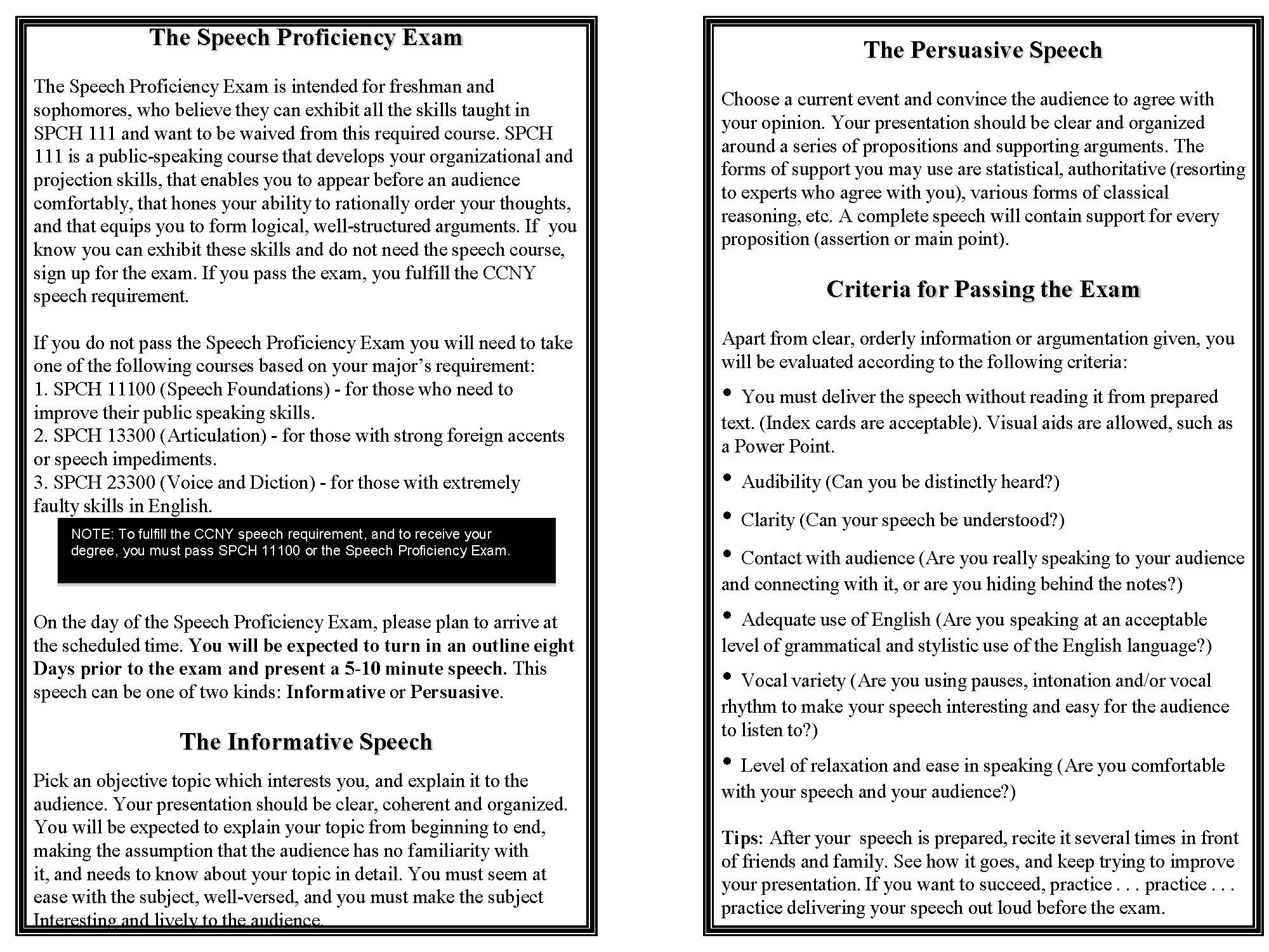 Speech Exam page 2