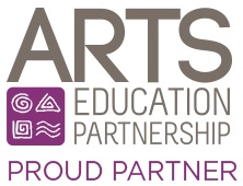 Arts Education Proud Partner badge