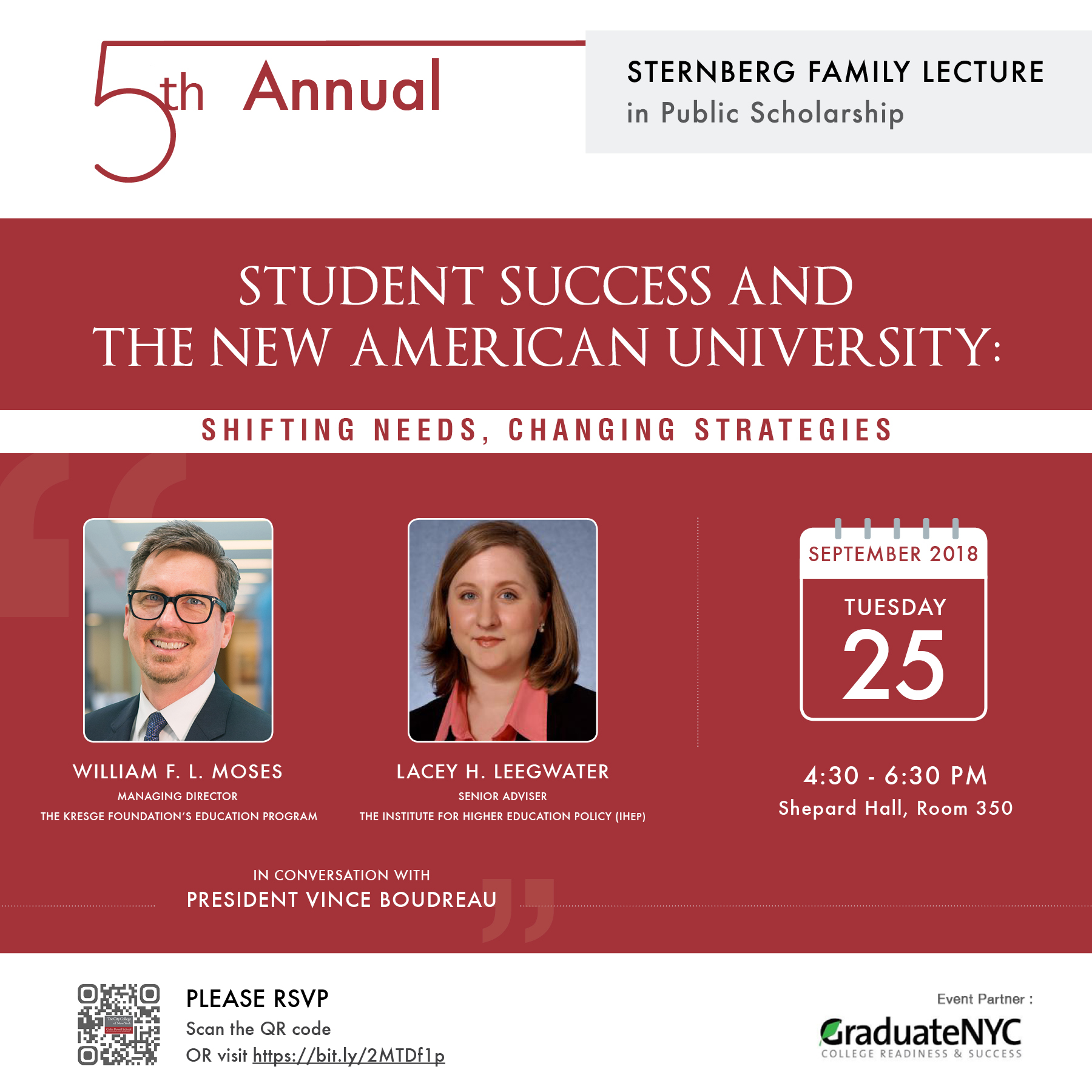 5th Annual Sternberg Lecture