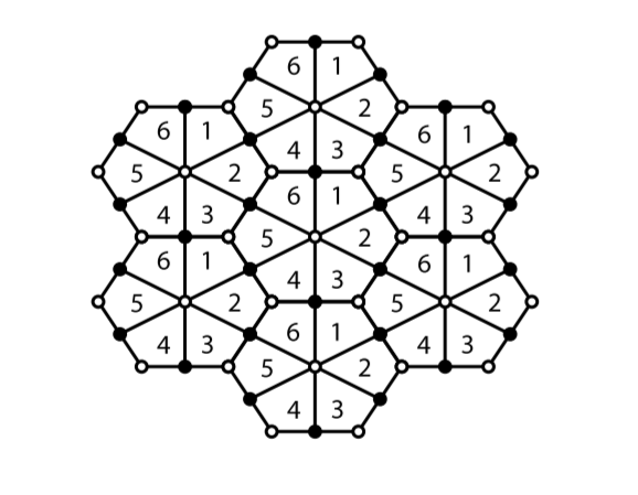 Brane Tiling Corresponding to the Geometry of del Pezzo 3