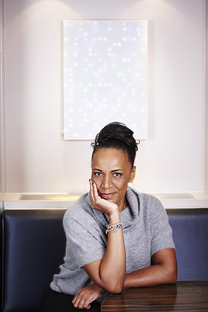 Lesley Lokko, dean of the Bernard and Anne Spitzer School of Architecture at The City College of New York.