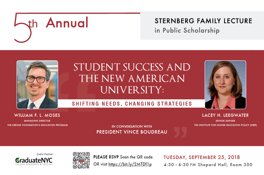 5th Annual Sternberg Family Lecture