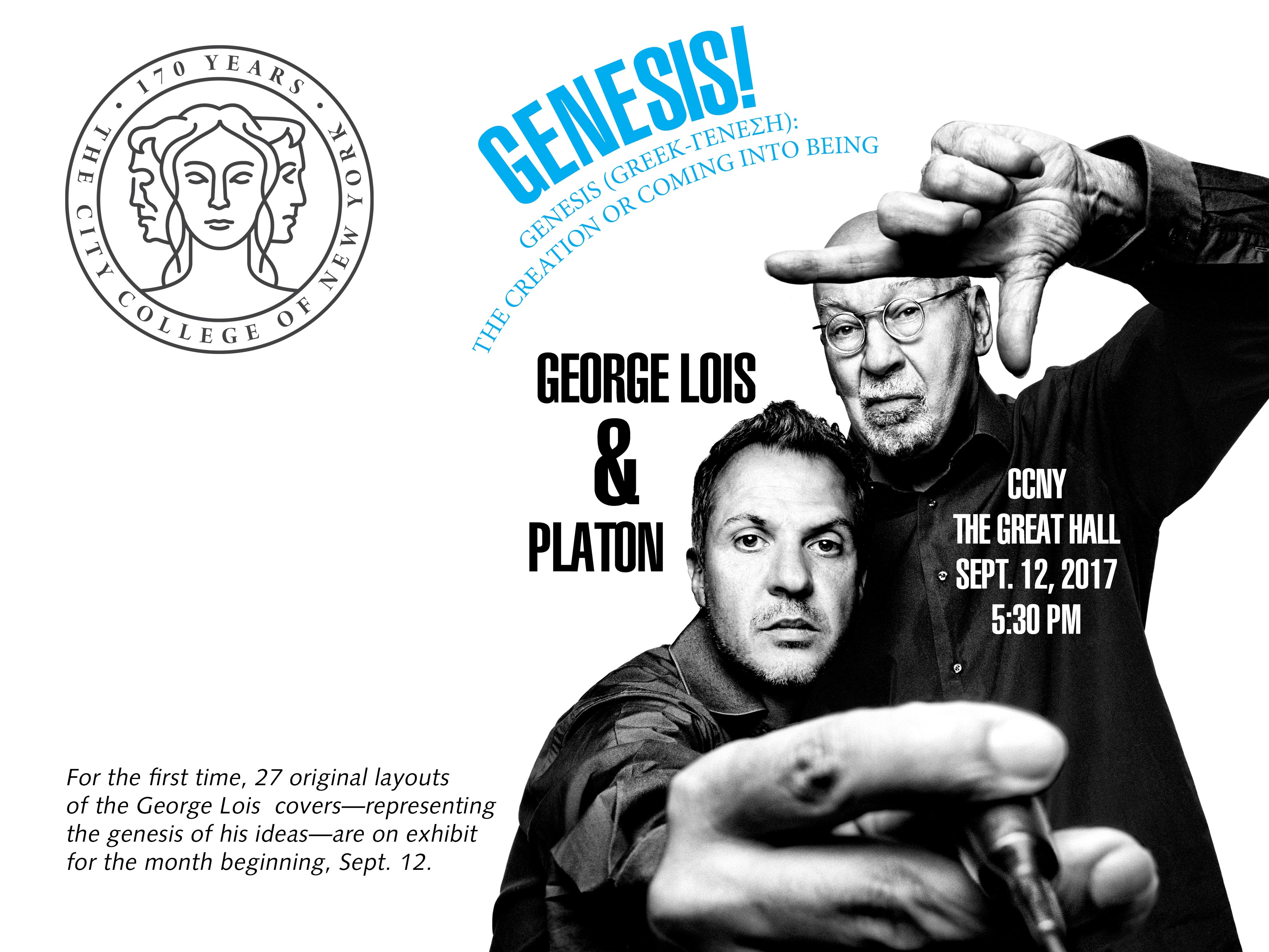 George Lois Promotional Flyer