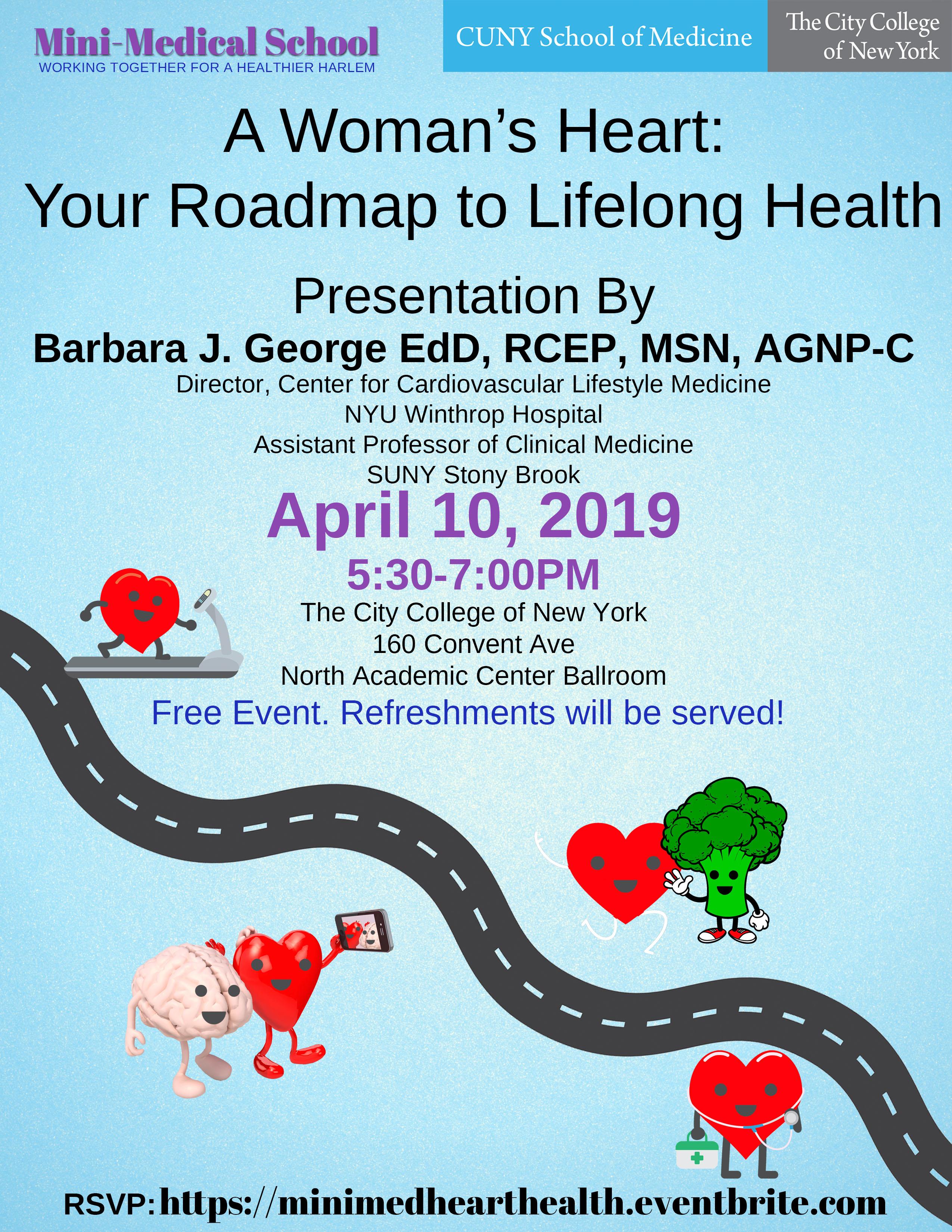 Mini Medical School April 2019 Flyer