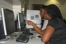Students using PC