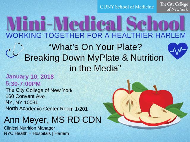 Mini-Medical School Nutrition