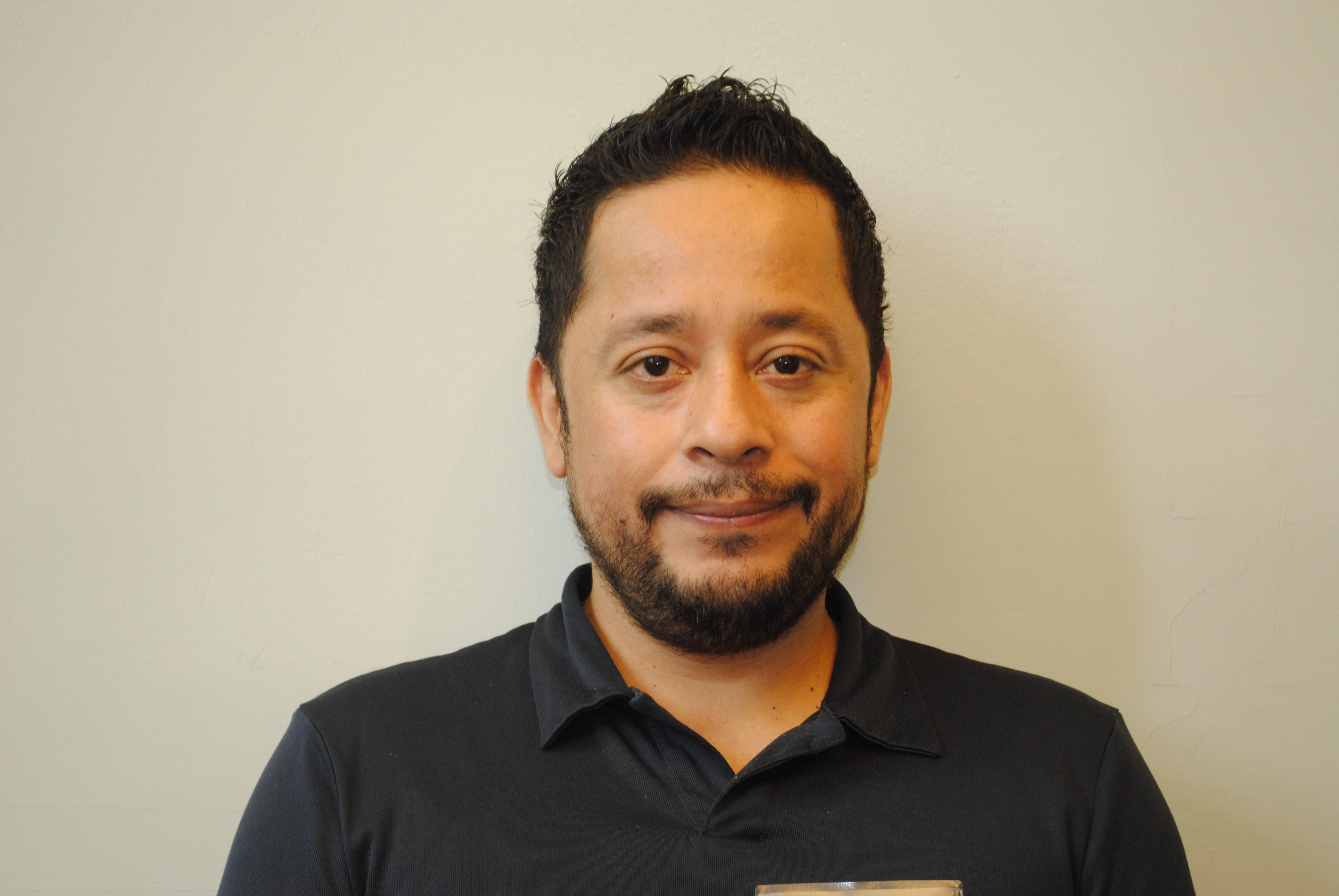 MPA student Daniel Vera