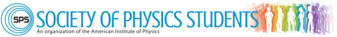 2013 Society of Physics Students Header