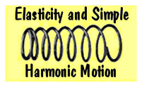 Elasticity and Simple Harmonic Motion