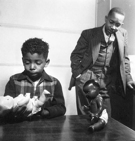 Kenneth Clark (pictured above) and his wife, Mamie, demonstrated through dolls society's destructive impact on the identities of black children. (Courtesy: LOC.gov)